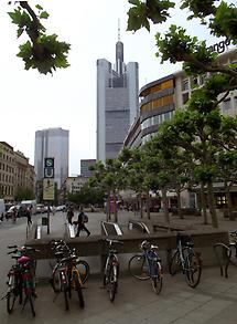 Eurotower and Commerzbank Tower
