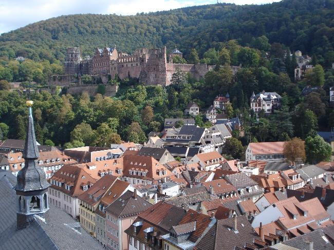 Heidelberg and castle