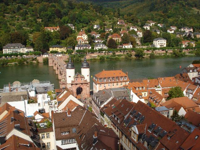 Heidelberg and Old bridge