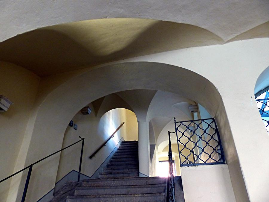 Görlitz - House of the 'Whispering Arch', Inside (approx. 1500)