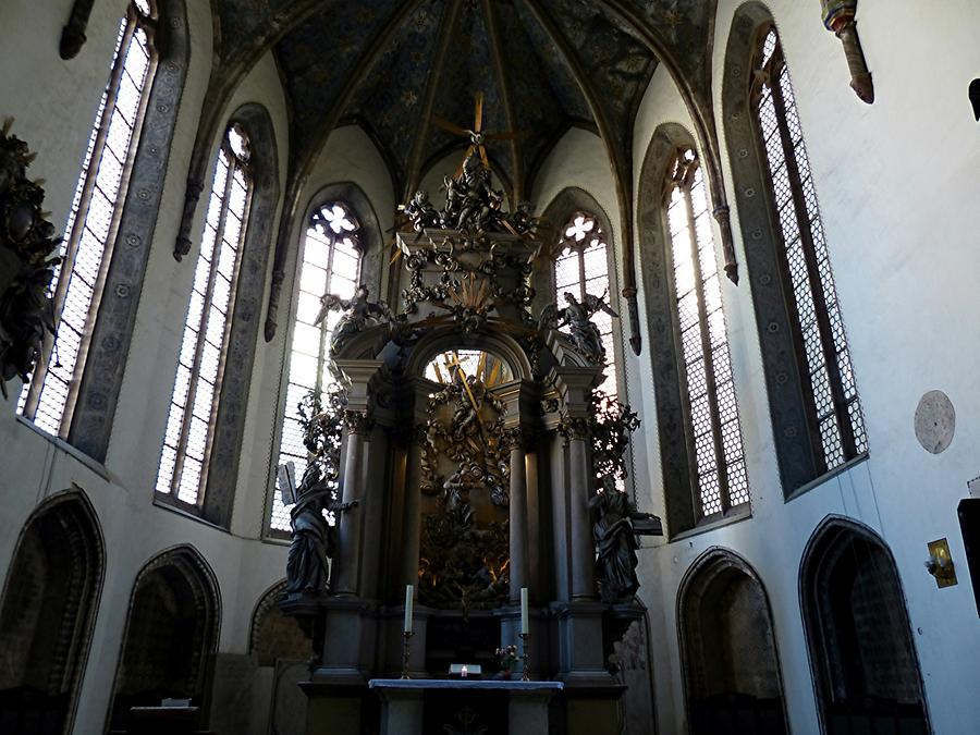 Görlitz - Trinity Church; Baroque High Altar