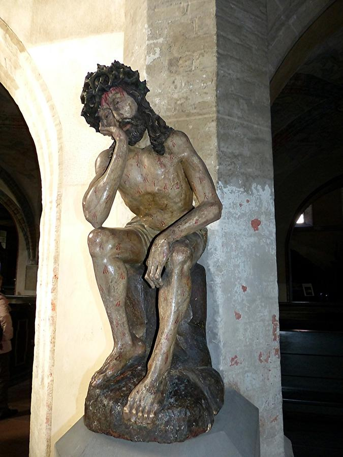"Görlitz - Trinity Church; 'Pensive Christ'"" (approx. 1500)"