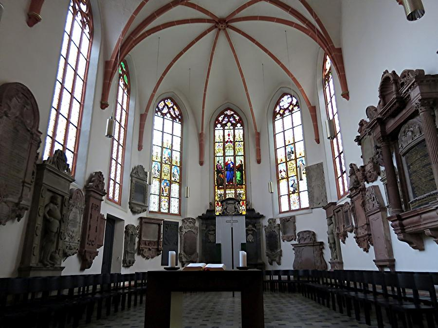 Heidelberg - St. Peter's Church; Choir with tombs of nobles and university members