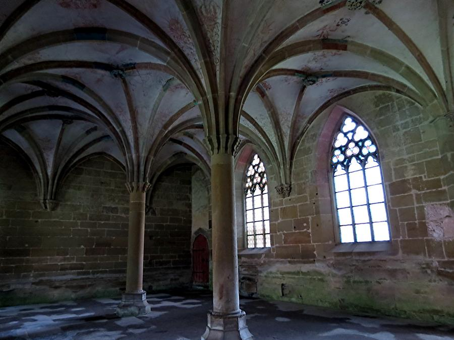 Maulbronn Abbey - Chapter House; Painting from 1424