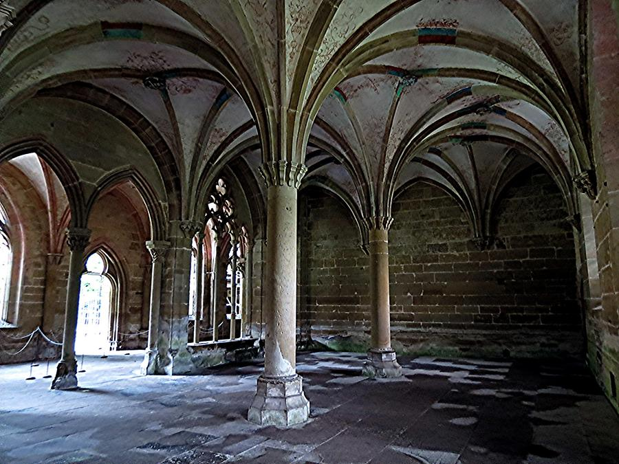 Maulbronn Abbey - Chapter House, approx. 1300