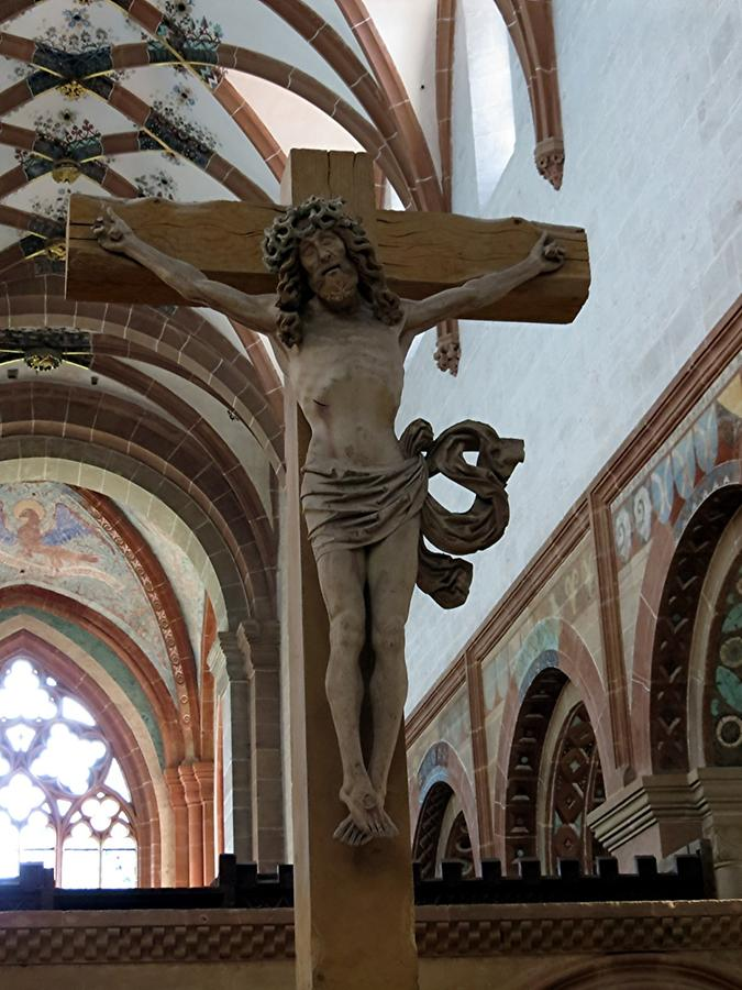 Maulbronn Abbey - Monastery Church; Crucifix from 1473