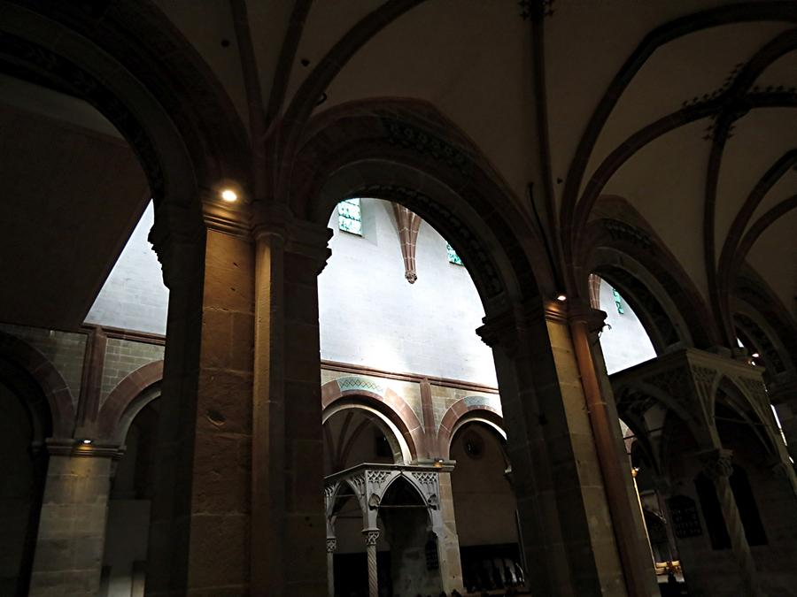 Maulbronn Abbey - Monastery Church with Romanesque Arches from 1147
