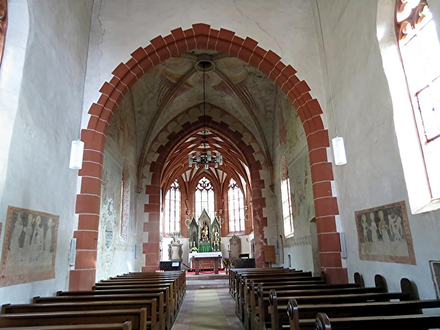 Hirschhorn - Ersheimer Chapel; Early Gothic Style