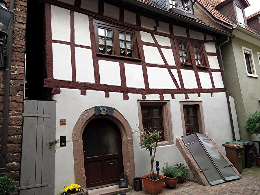 Hirschhorn - Half-Timbered House