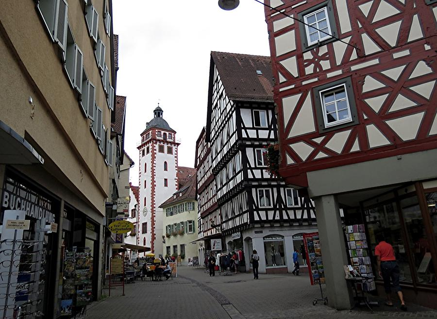 Mosbach - Tower of the Town Hall