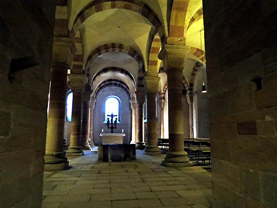 Speyer Cathedral; Crypt