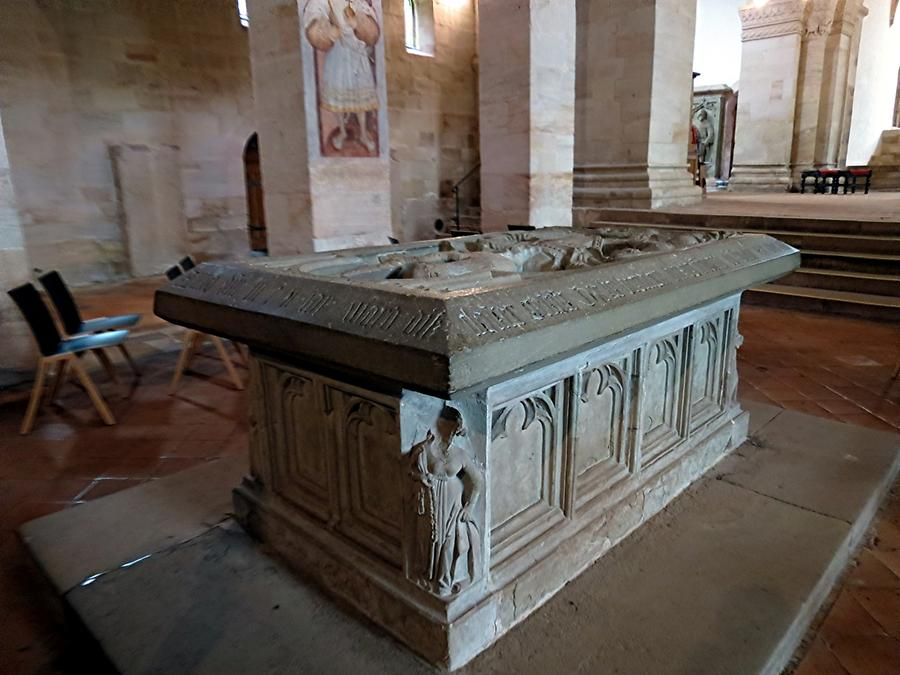Lorch - Abbey Church; Hohenstaufen Table Tomb