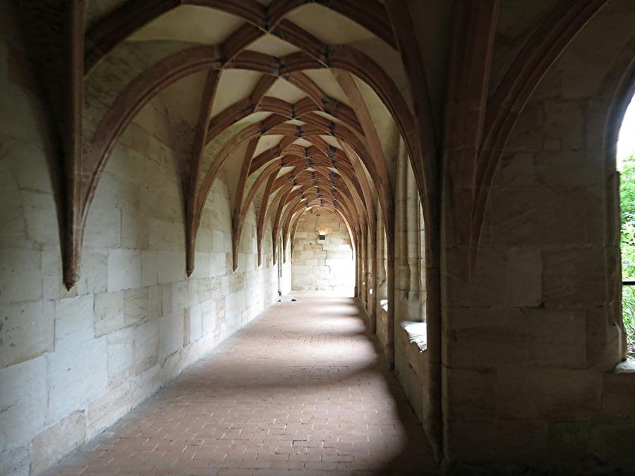 Lorch - Abbey; Cloister