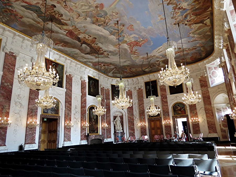 Mannheim - Palace; Baroque Ceremonial Hall