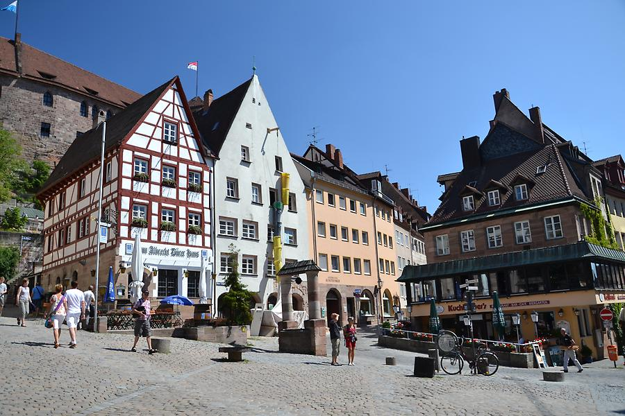 Square in Nuremberg