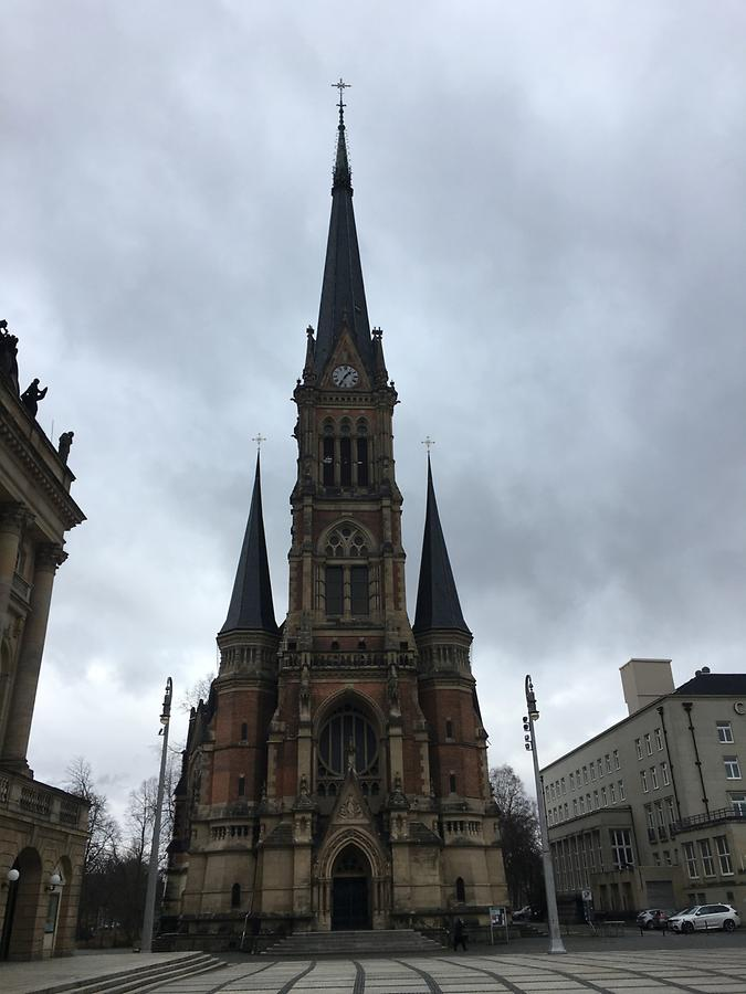 Chemnitz - Theaterplatz, St. Petri Church