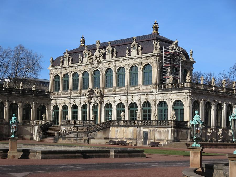 Dresden - Zwinger, Royal Cabinet of Mathematical and Physical Instruments