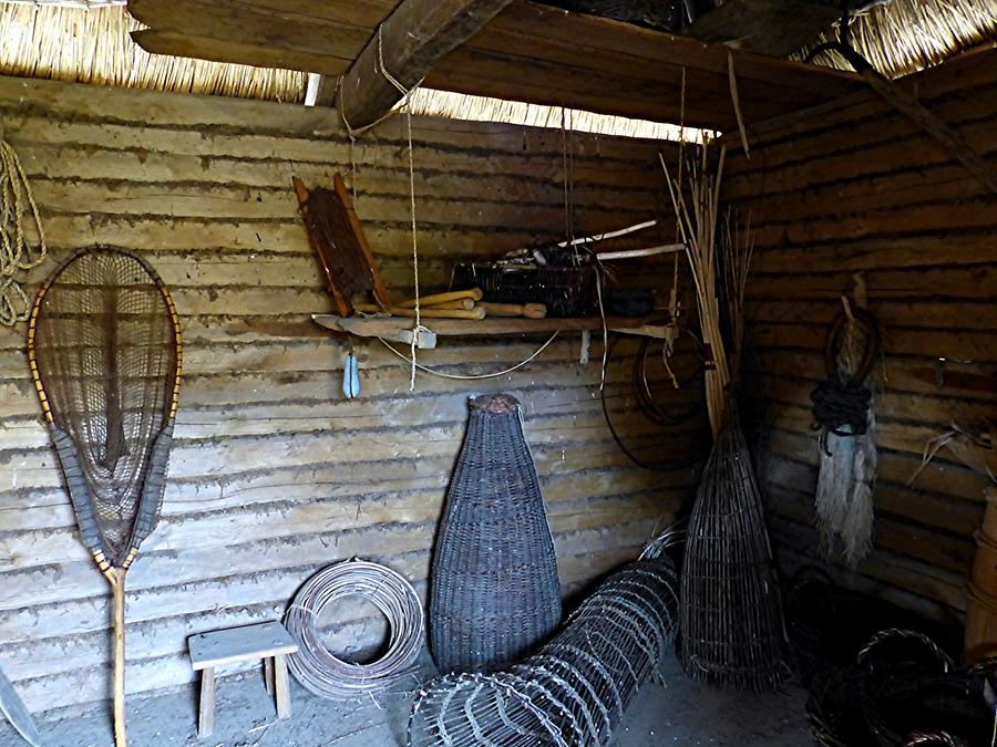 Haithabu - Viking Village; Fisherman's House