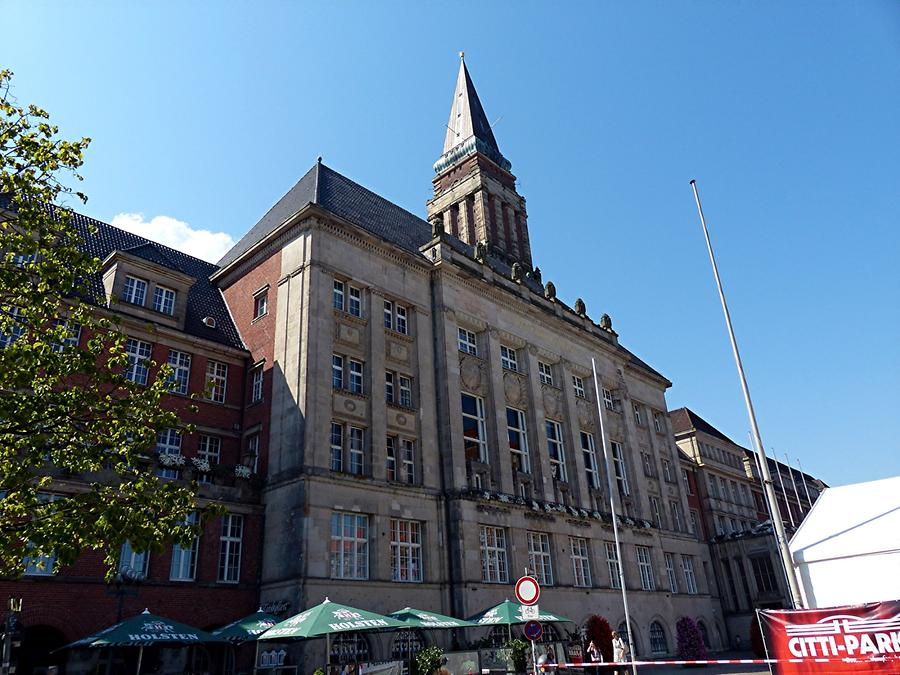 Kiel - Town Hall, Built Between 1907 and 1911