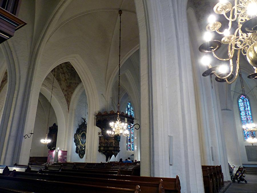 Flensburg - Church of St. Mary; Gothic Interior
