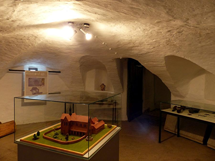 Glücksburg Castle - Castle Basement; Remains of the Former Cistercian Monastery of 1209