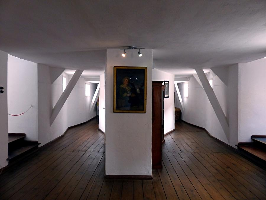 Glücksburg Castle - Rooms for the Staff on Third Floor