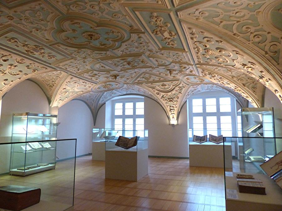 Gottorf Castle - Hall of Duke Frederick III with Stucco from 1624
