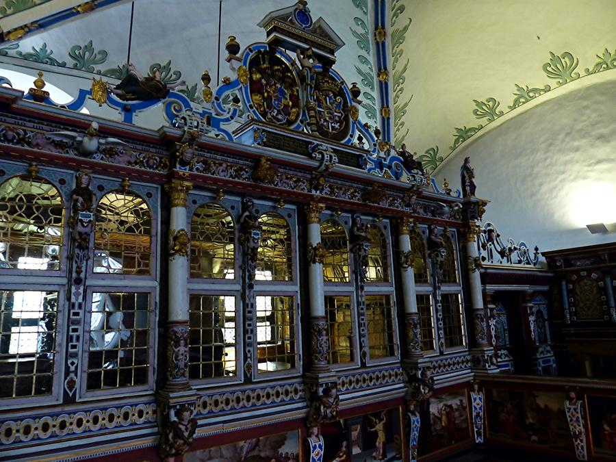 Gottorf Castle - Palace Chapel; Prayer Room above the Altar (1613)
