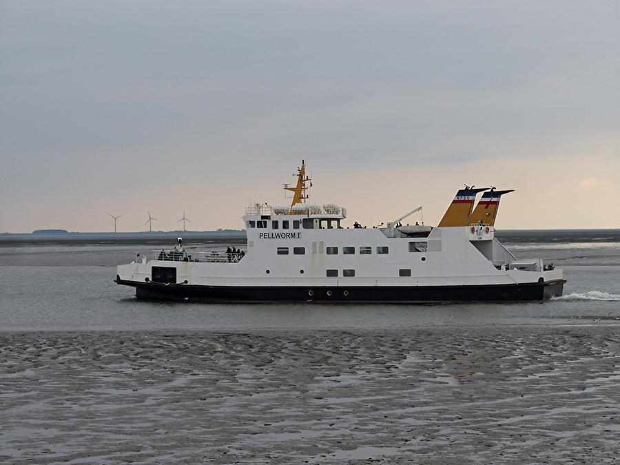 Nordsee - Ferry to Pellworm