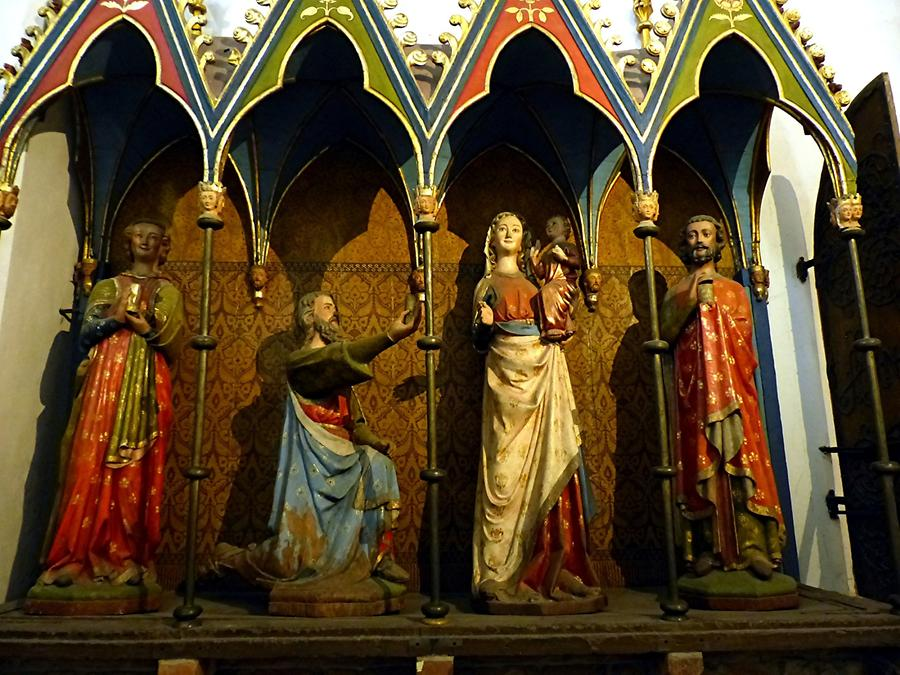 Schleswig - Cathedral of St. Peter; the Three Kings, 13th Century