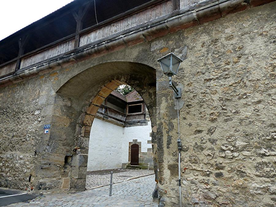 Amberg - City Walls; Wingershofer Gate