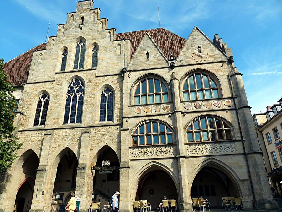 Hildesheim - Historic Market Place; Town Hall, 1268