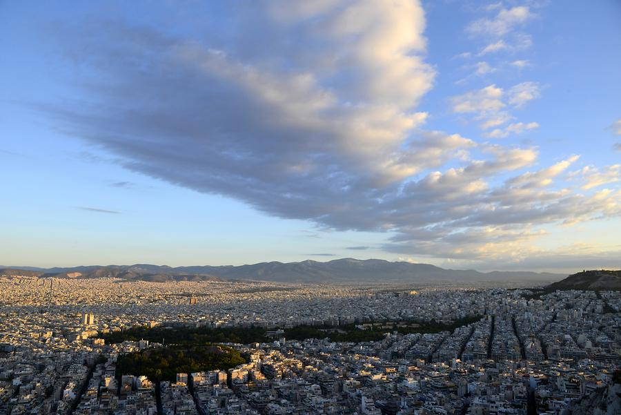 View from Mount Lycabettus