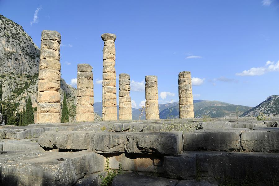 Apollo Temple Delphi