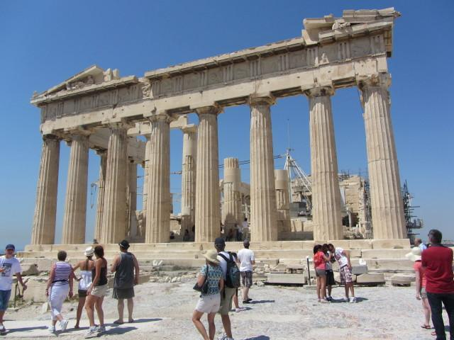 Rear of the Parthenon