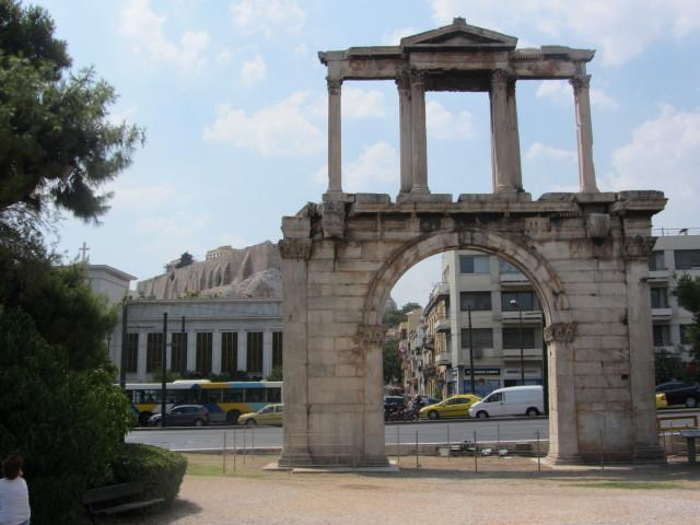 Hadrians Arch, Athens