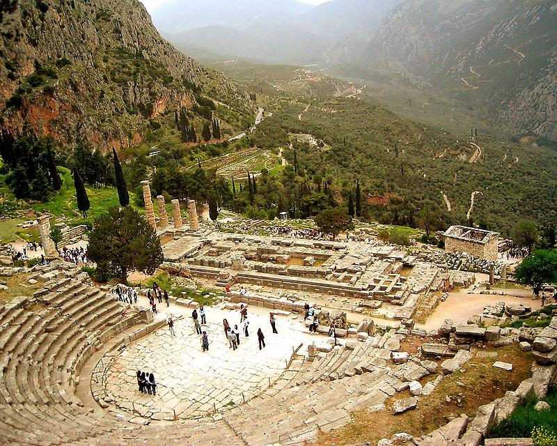 Theater at Delphi