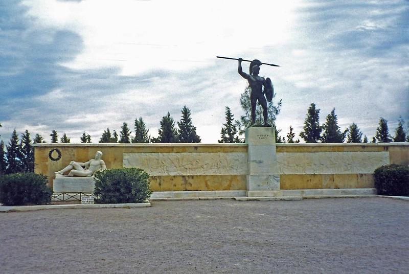 Monument to Leonidas and Spartans