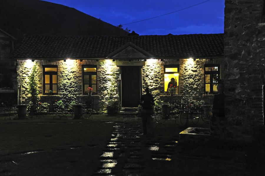 Agios Germanos at night