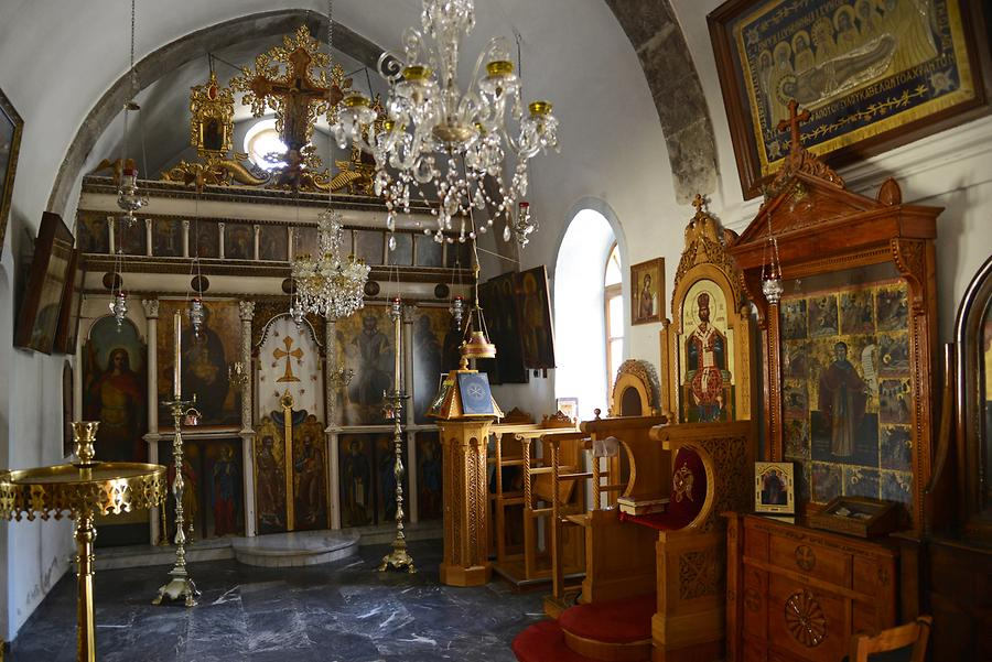 Monastery of Savanthiana - Iconostasis
