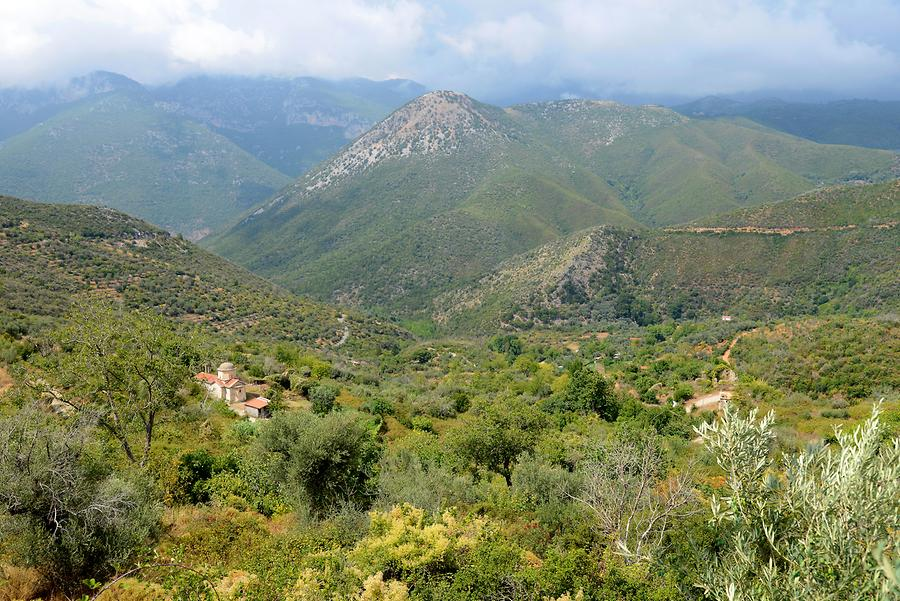 Landscape around Messene