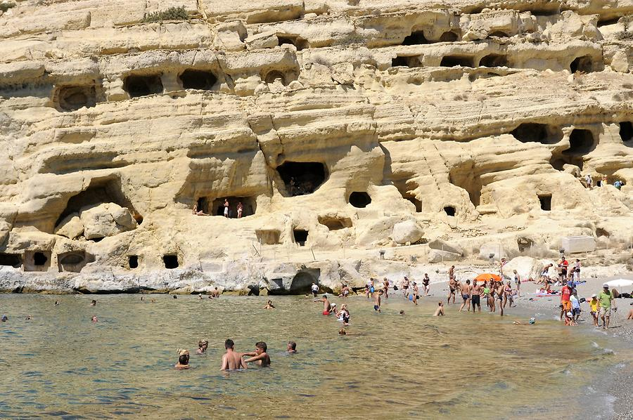 Matala - Beach and Caves