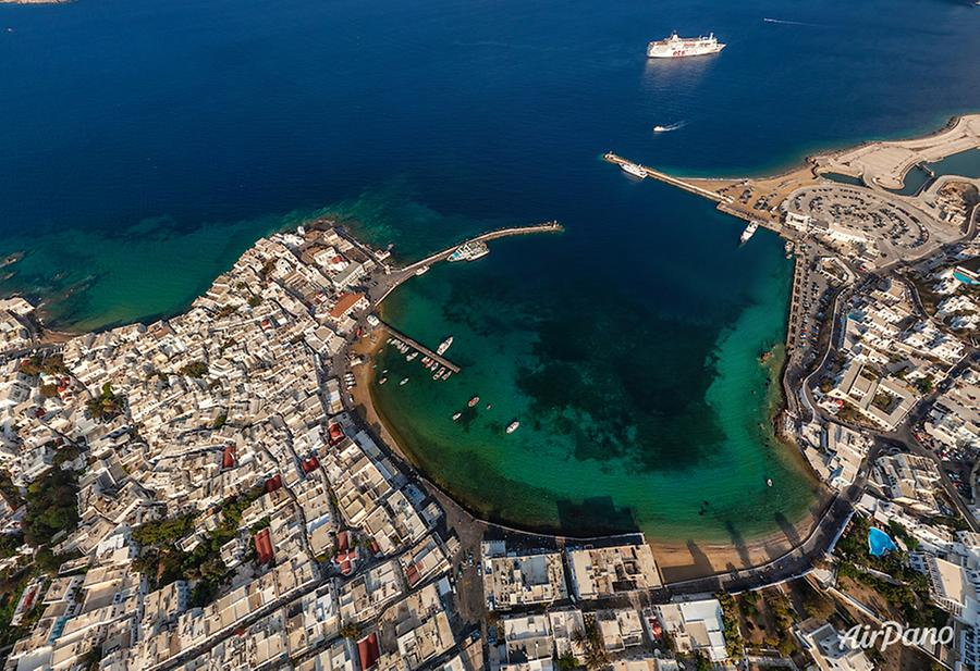 Mykonos Island, Greece, © AirPano
