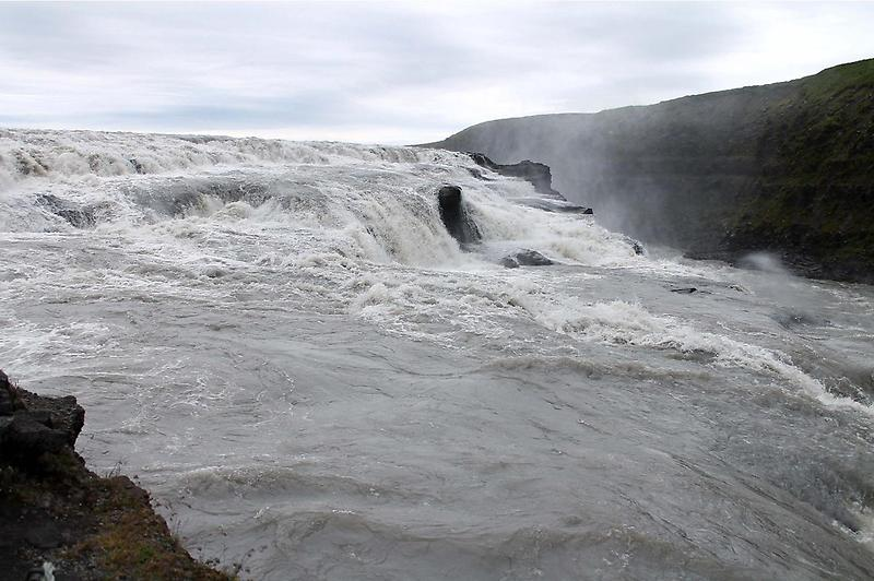 Stairsteps in the Gullfoss Waterfall