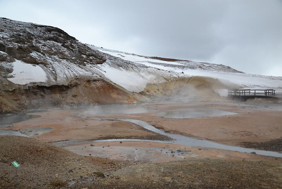 thermal area Krysuvik-Seltun