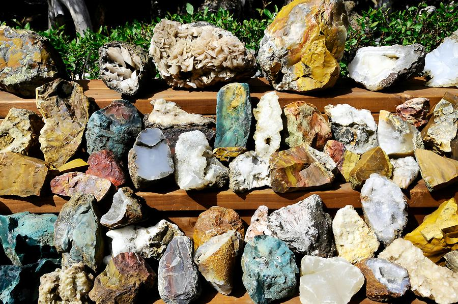 Petra's Collection of Minerals