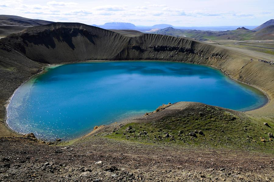 Krafla - Crater Lake