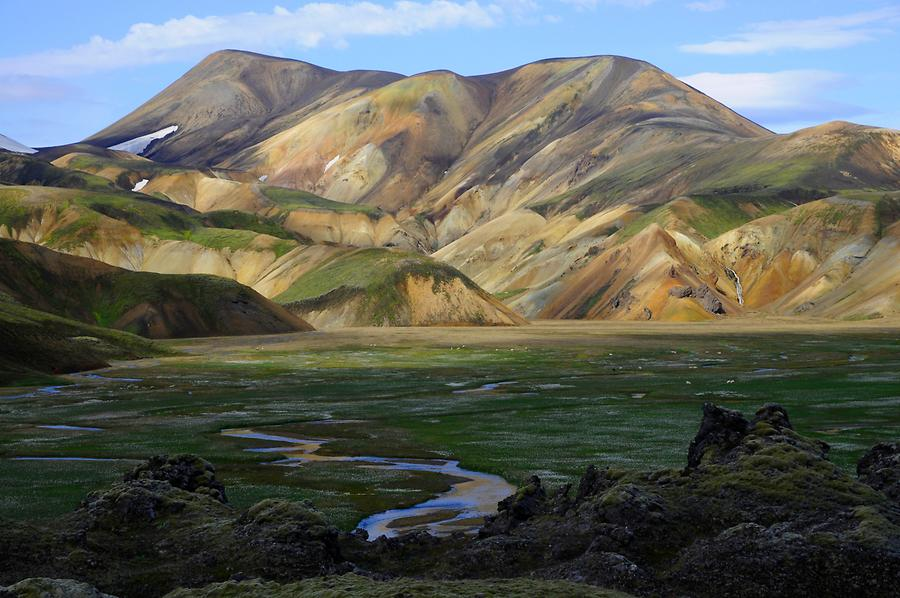 On the Road in Landmannalaugar