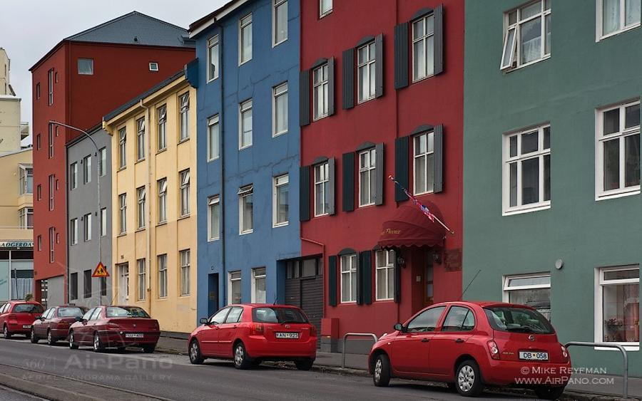 On the streets of Reykjavik