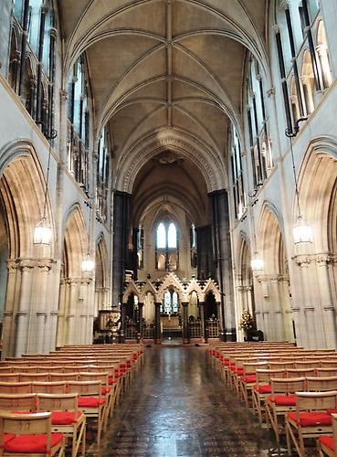 Christ Church Cathedral, view from the inside